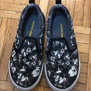 Mickey Mouse slip ons